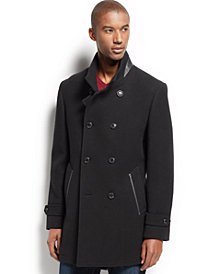 I.N.C. Ted Wool-Blend Coat, Created for Macy's
