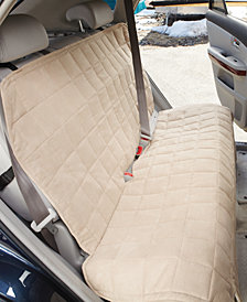 Sure Fit Soft Faux-Suede Waterproof Large Bench Seat Cover