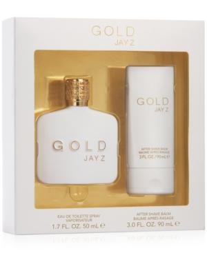 Jay Z Men's 2-Pc. Gold...