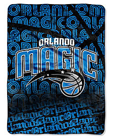 Northwest Company Orlando Magic Micro Raschel Redux Throw Blanket
