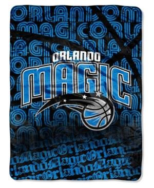 Northwest Company Orlando Magic Micro Raschel Redux Throw Blanket