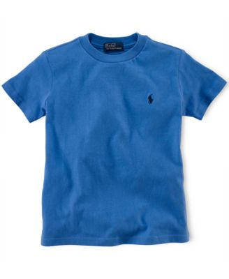 Image of Ralph Lauren Little Boys' Crew-Neck Tee, Toddler and Little Boys (2T-7)
