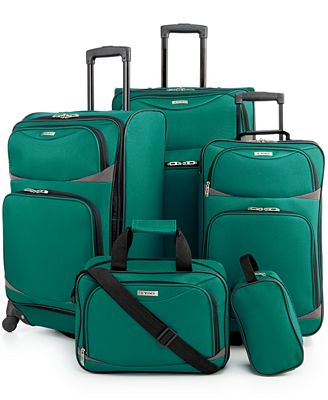 Tag Coronado II 5-Pc. Spinner Luggage Set - Luggage Sets - Luggage ...