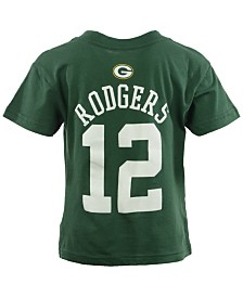 Outerstuff Toddler Boys' Aaron Rodgers Green Bay Packers Mainliner Player T-Shirt