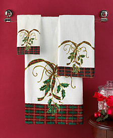 Lenox Bath Towels Holiday Nouveau Collection