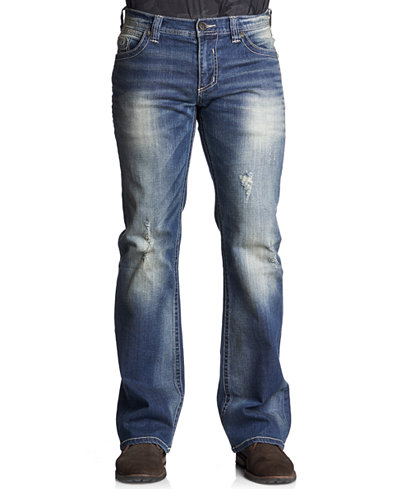 Affliction Men's Cooper Relaxed Bootcut Jeans - Jeans - Men - Macy's