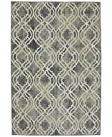 Karastan Euphoria Potterton Ash Grey 8' x 11' Area Rug