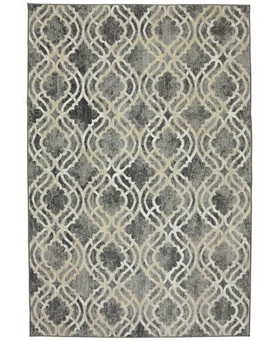 Karastan Euphoria Potterton Ash Grey Area Rugs