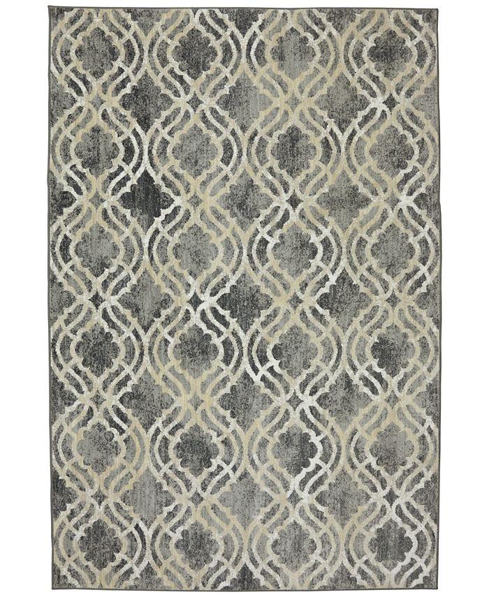 Karastan - Euphoria Potterton Ash Grey 8' x 11' Area Rug
