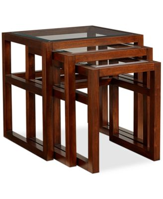 battery park 3 pc nesting tables created for macyu0027s