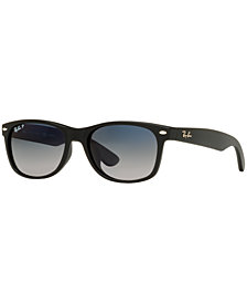 Ray-Ban Sunglasses, RB2132F 55 NEW WAYFARER