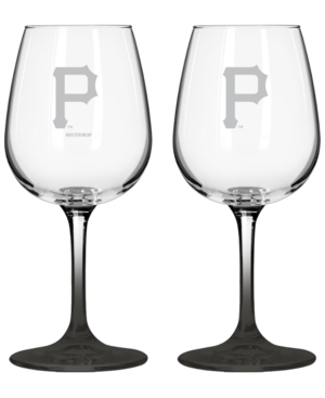 Boelter Brands Pittsburgh Pirates 2-Pack 16 oz. Wine Glass