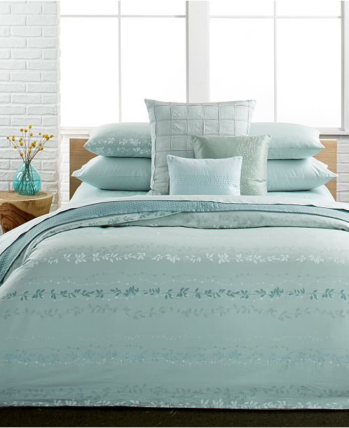 Calvin Klein Nightingale King Duvet Cover Set