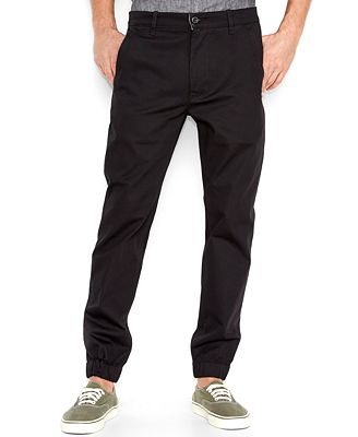 Levi's® Men's Chino Jogger Pants - Pants - Men - Macy's