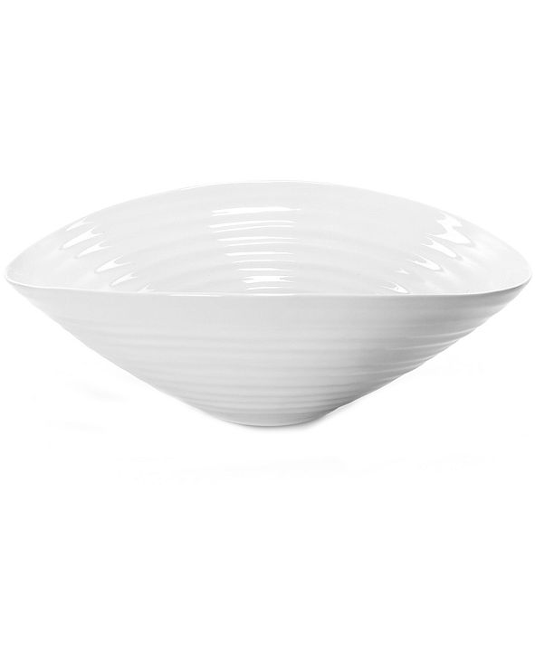 Portmeirion Dinnerware, Sophie Conran White Medium Salad Bowl