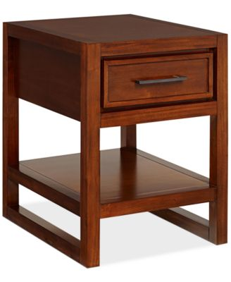 Beautiful Battery Park End Table, Created For Macyu0027s