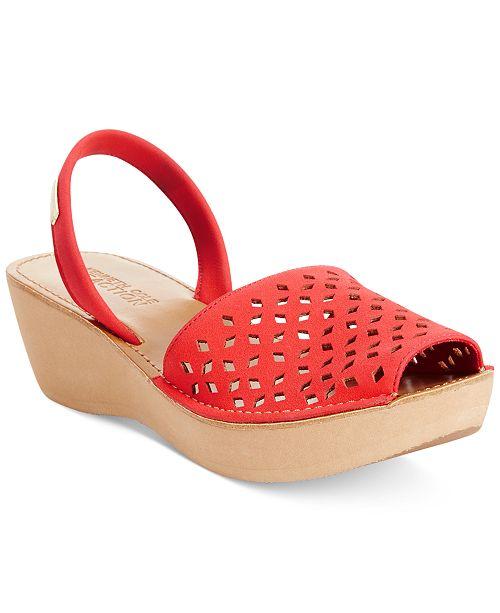 92a4329ea47e ... Kenneth Cole Reaction Kenneth Cole Women s Reaction Fine Glass 2  Platform Wedge Sandals ...