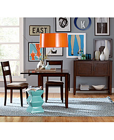Branton Drop Leaf Dining Room Furniture Collection, Created for Macy's