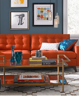 Karlie Fabric Sofa Living Room Furniture Collection Furniture Macy 39 S