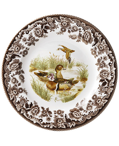Woodland by Spode Wood Duck Dinner Plate