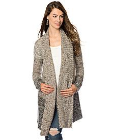 Splendid Maternity Maternity Ombré Wool-Blend Sweater Coat