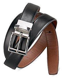 Polo Ralph Lauren Men's Big & Tall Belt, Belt Reversible Leather Belt