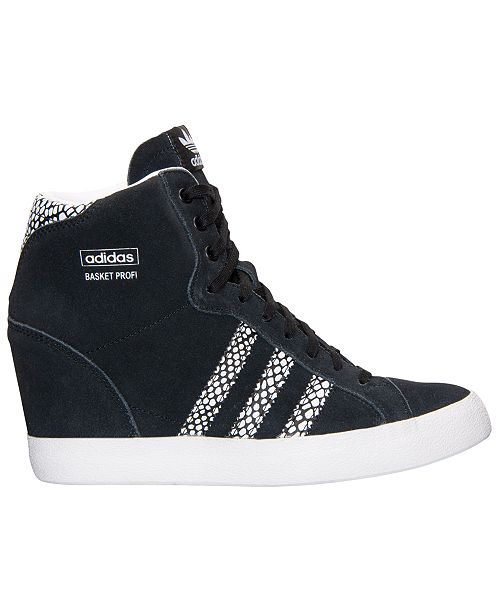 meet 090fb 89dd2 ... adidas Womens Basket Profi Up Casual Sneakers from Finish ...