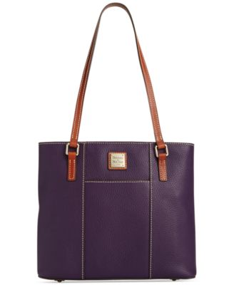 Pebble Leather Lexington Shopper