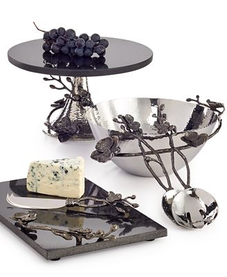 Michael Aram Black Orchid Serveware Collection