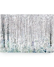 Watercolor Woods Canvas Print
