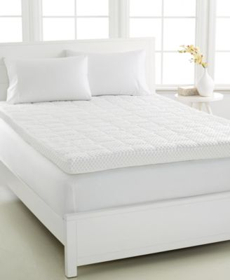 CLOSEOUT! Dream Science 4'' Memory Foam Twin Mattress Topper, VentTech Ventilated Foam, by Martha Stewart Collection, Created for Macy's
