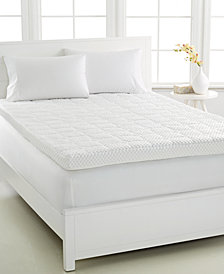 CLOSEOUT! Dream Science 4'' Memory Foam Mattress Toppers, VentTech Ventilated Foam, by Martha Stewart Collection, Created for Macy's