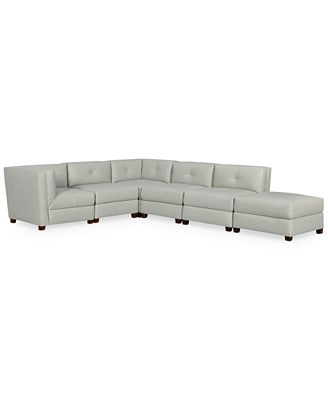 Tristen Leather Sofa Reviews Macys