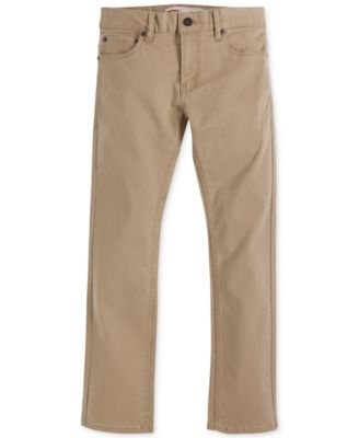 Image of Levi's® Boys' 511 Slim Fit Sueded Pants