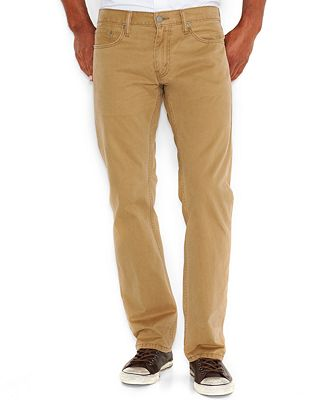 Levi's Men's 514 Straight Fit Soft Twill Pants - Jeans - Men - Macy's
