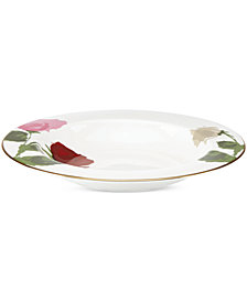 kate spade new york Rose Park Rim Soup Bowl