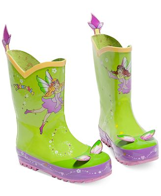 Kidorable Little Girls' Fairy Rain Boots - Shoes - Kids & Baby ...