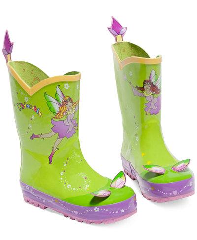 Kidorable Little Girls' Fairy Rain Boots - Shoes - Kids & Baby ...