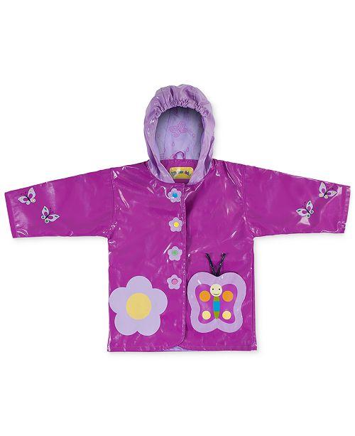 Kidorable Butterfly Raincoat Little Girls Coats