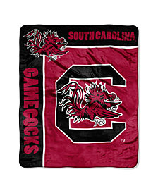 Northwest Company South Carolina Gamecocks Plush Team Spirit Throw Blanket