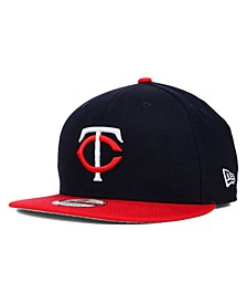 Minnesota Twins 2 Tone Link 9FIFTY Snapback Cap