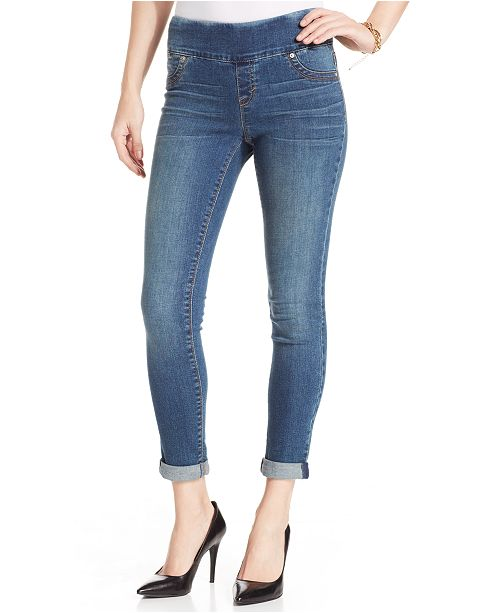 a990bdc817798a Style & Co Petite Cuffed Jeggings, Created for Macy's & Reviews ...