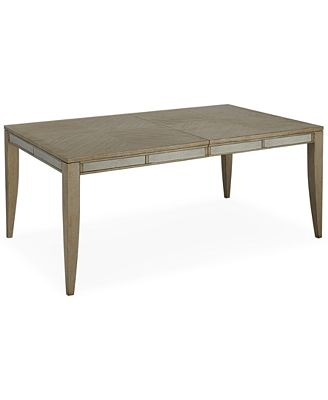 Expandable Furniture ailey expandable dining table - furniture - macy's