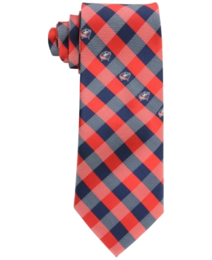 Columbus Blue Jackets Checked Tie