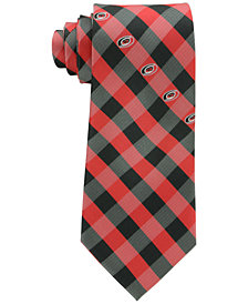 Eagles Wings Carolina Hurricanes Checked Tie