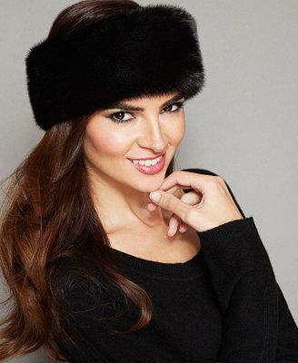 Mink Fur Headband by The Fur Vault