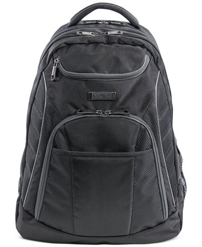 Kenneth Cole Reaction Expandable Laptop Backpack with iPad/Tablet Pocket