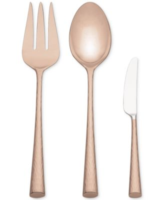 Imperial Caviar Rose Gold 3-Pc. Serving Set