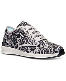 Reebok Women's Skyscape Chase-Print Walking Sneakers from Finish Line