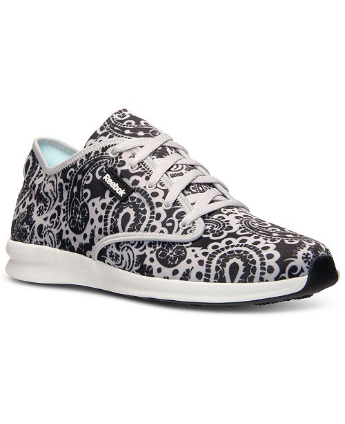 b41308ab753 Reebok Women s Skyscape Chase-Print Walking Sneakers from Finish ...